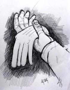 020_ il vigile e i guanti